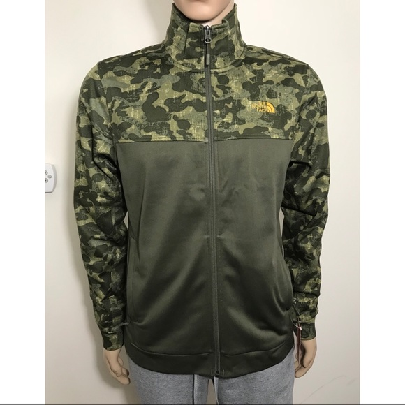 441e7370daaa FIRM The North Face 100 Cinder Zip Up Jacket Camo